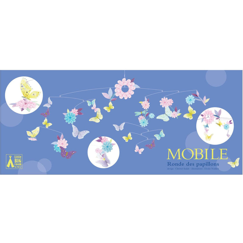 Djeco Mini Paper Mobile - Butterfly Twirl
