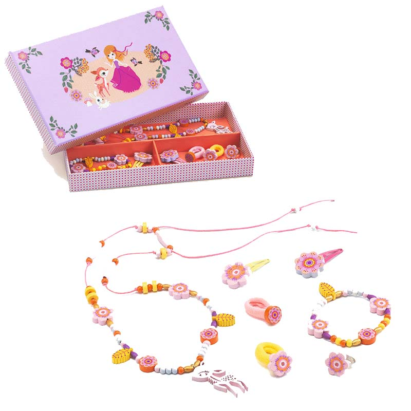 Wooden Jewellery Set - The Fawn's Ball