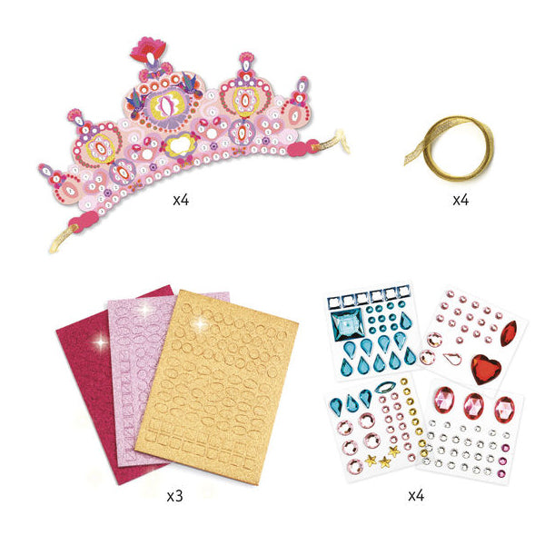 Do it yourself - Mosaic Princess Tiaras