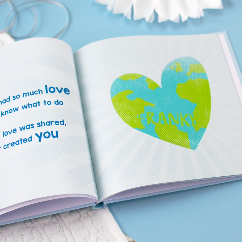 Personalised On the Day You Were Born Book
