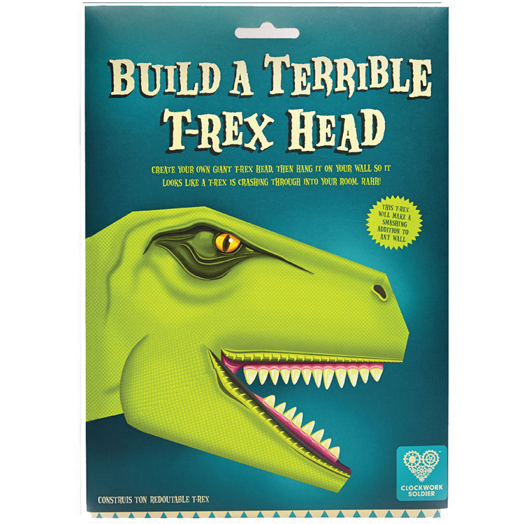 Create Your Own Terrible T-Rex Head