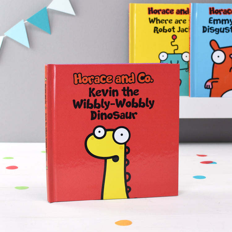 Personalised Flossy and Jim The Wibbly-Wobbly Dinosaur