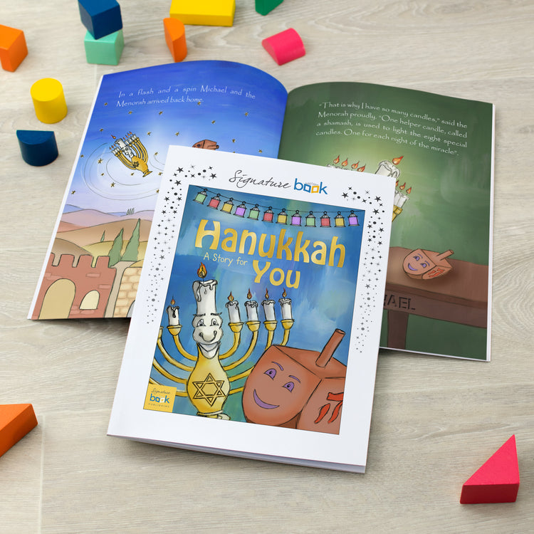 Personalised Hanukkah Book