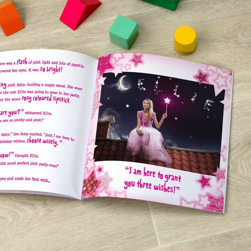 Personalised The Perfect Pink Party Book