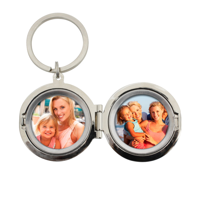 Personalised To the Moon and Back...Photo Keyring