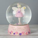 Personalised Name Fairy Snow Globe