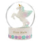 Personalised Name Unicorn Snow Globe