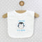 Personalised 'First Penguin' Bib