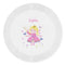 Personalised Fairy Plastic Plate
