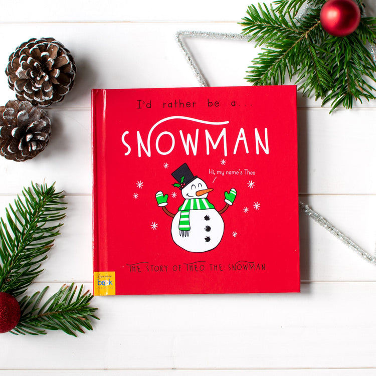 I'd Rather Be A Snowman - Personalised Storybook
