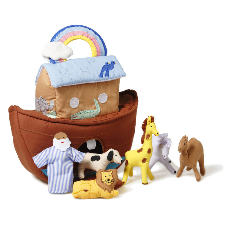 Oskar & Ellen Fabric Noah's Ark Play Set