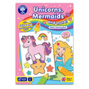 Unicorns, Mermaids & More Colouring Book