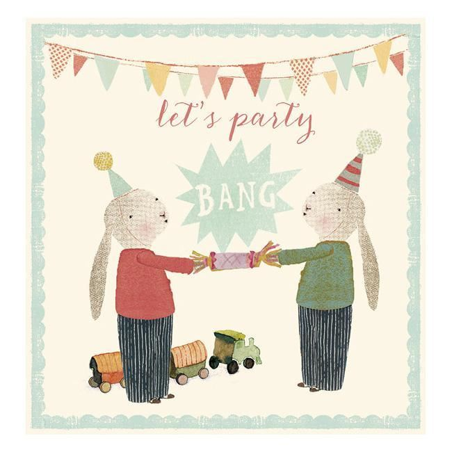 Maileg Birthday Card - Let's Party