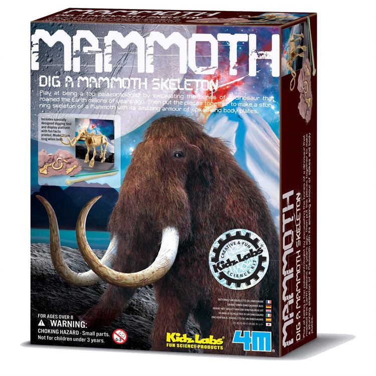 4M KidzLabs Mammoth Skeleton Excavation Kit