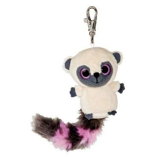 Yoohoo & Friends Pink & Grey Tailed Bushbaby Clip-on