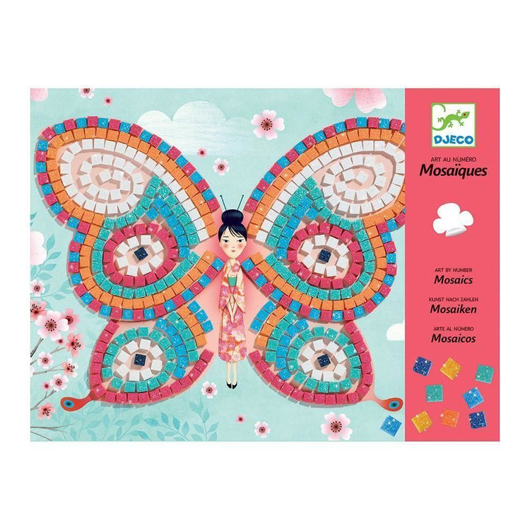 Djeco Mosaics - Butterflies - I Want That Present
