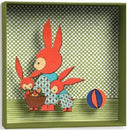 Djeco Box Frame 3D Picture - Rabbits