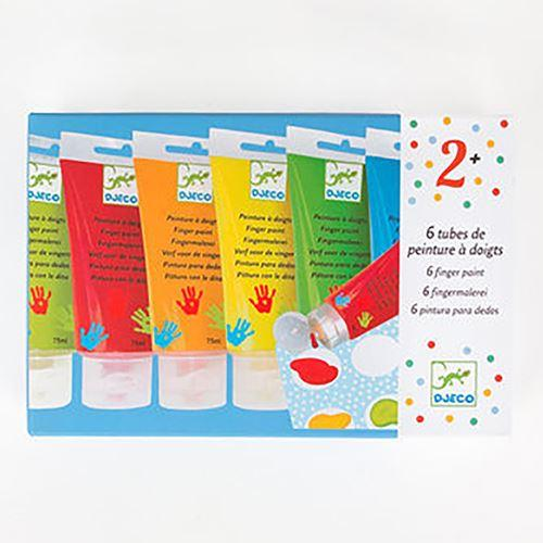 Arts & Crafts - 6 Finger Paint Tubes