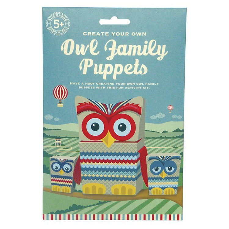 Arts & Crafts - Little Owl Puppets