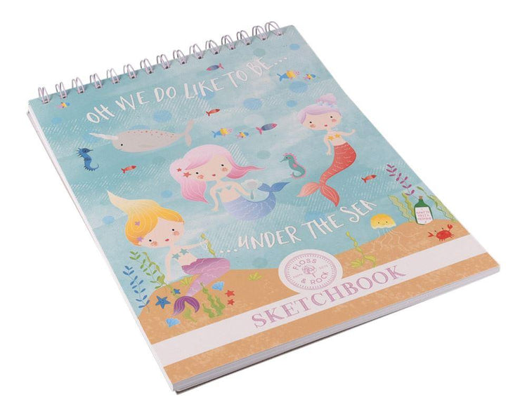 Arts & Crafts - Mermaid Sketchbook By Floss & Rock