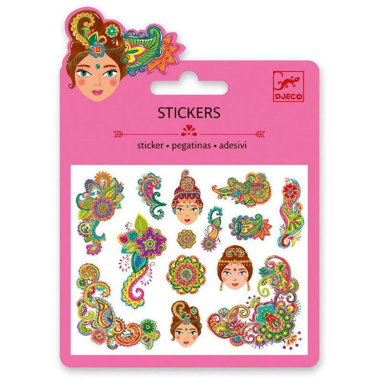 Arts & Crafts - Mini Stickers - Indian Motifs
