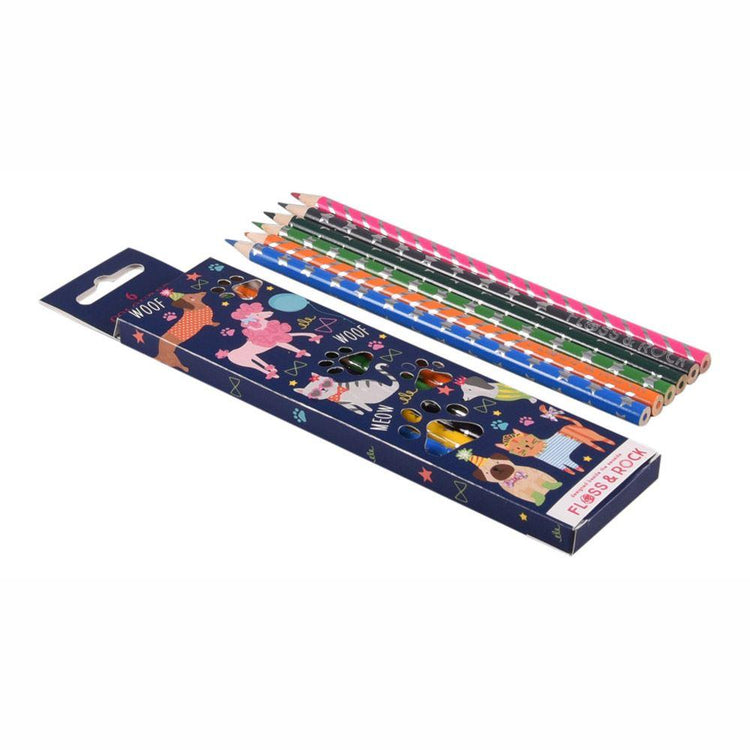 Arts & Crafts - Pets Pencil Pack By Floss & Rock