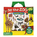 Reusable Stickers - At The Zoo