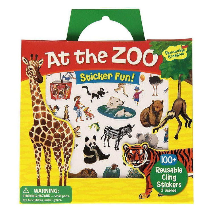 Arts & Crafts - Reusable Stickers - At The Zoo