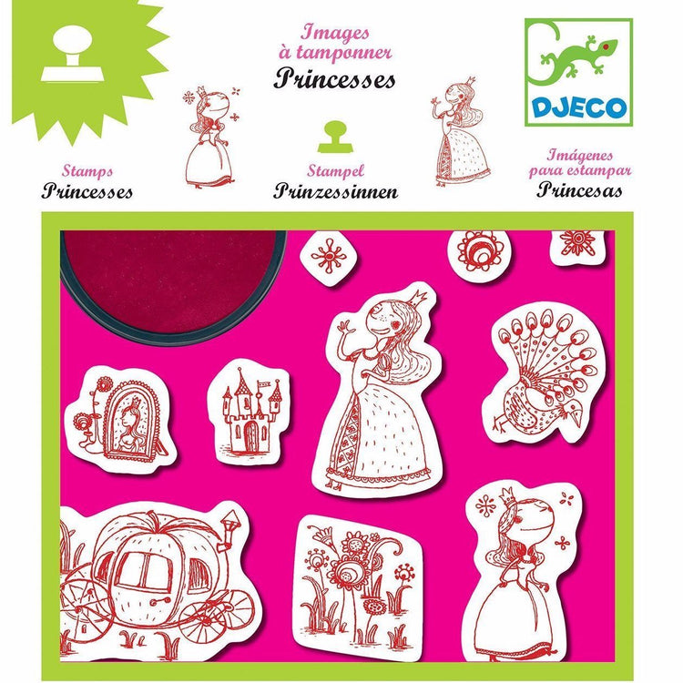 Arts & Crafts - Stamp & Ink Set - Princesses