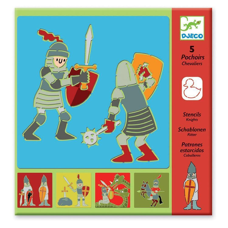 Arts & Crafts - Stencil Set - Knights