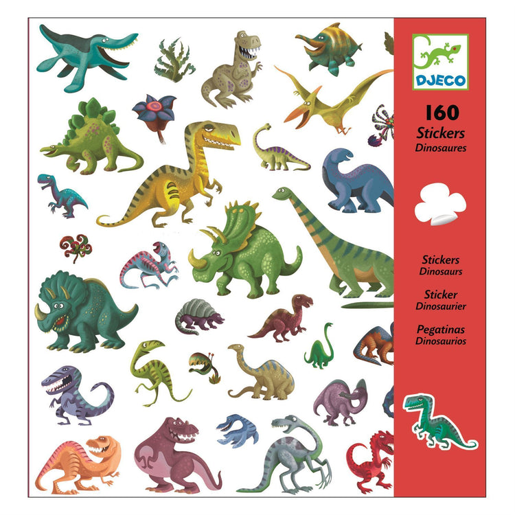 Arts & Crafts - Stickers - Dinosaur