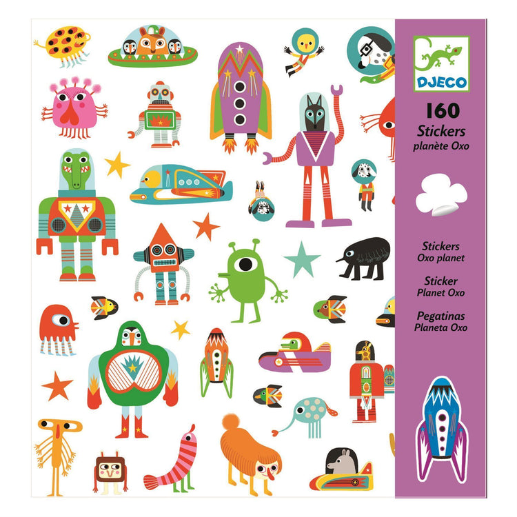 Arts & Crafts - Stickers - Planet Oxo