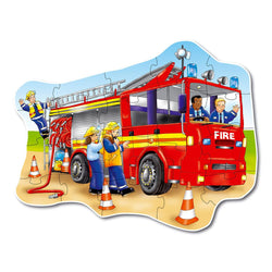 Big Fire Engine Puzzle - I Want That Present