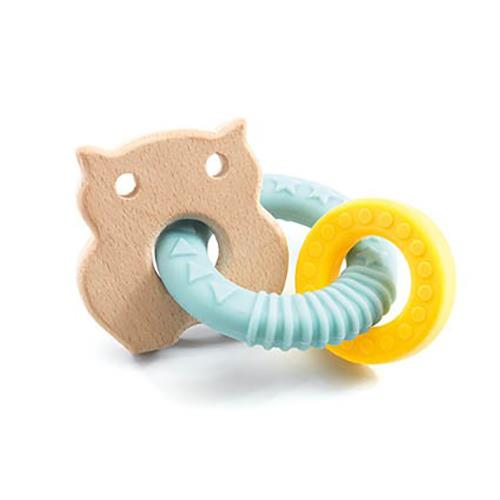 BabyBobi Owl Teething Ring