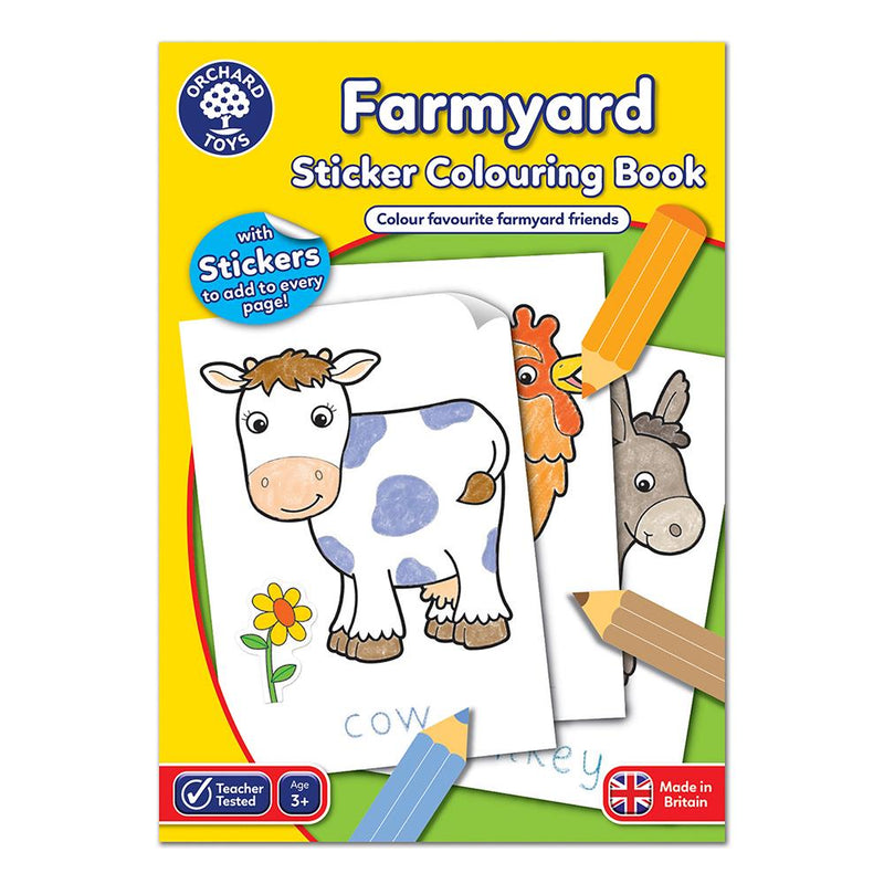 Farmyard Colouring Book