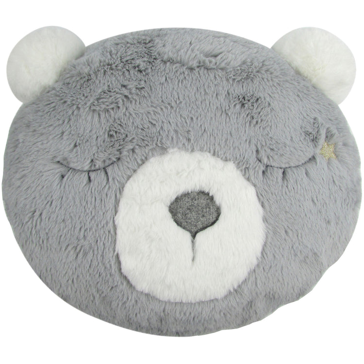 Albetta Grey Bear Cushion - I Want That Present