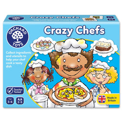 Crazy Chefs Game - I Want That Present