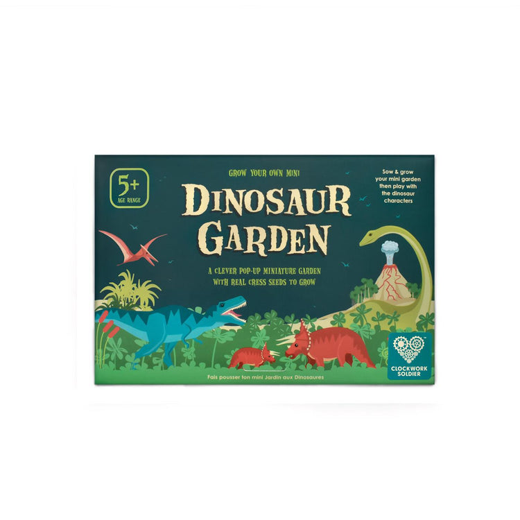 Grow Your Own Mini Dinosaur Garden
