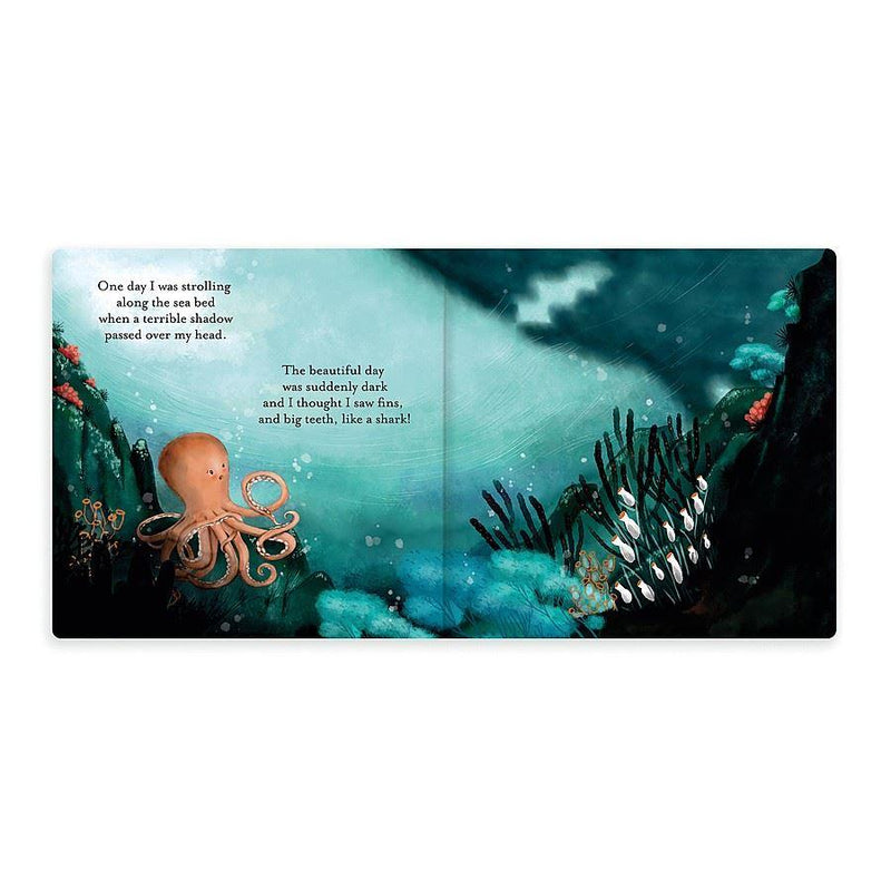 Jellycat The Fearless Octopus Board Book