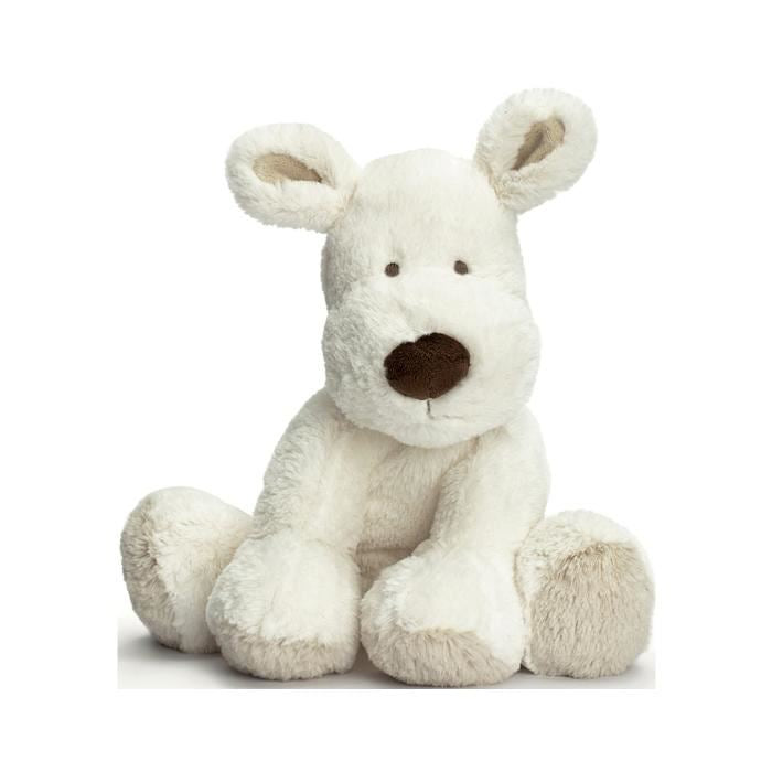 Teddykompaniet Small Cream Puppy Soft Toy