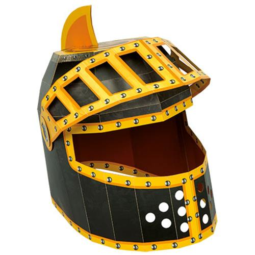 Knight Helmet 3D Mask Card Craft