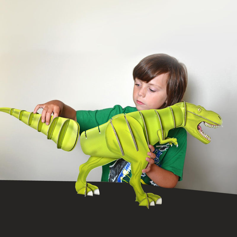 Build a Giant T-Rex Dinosaur