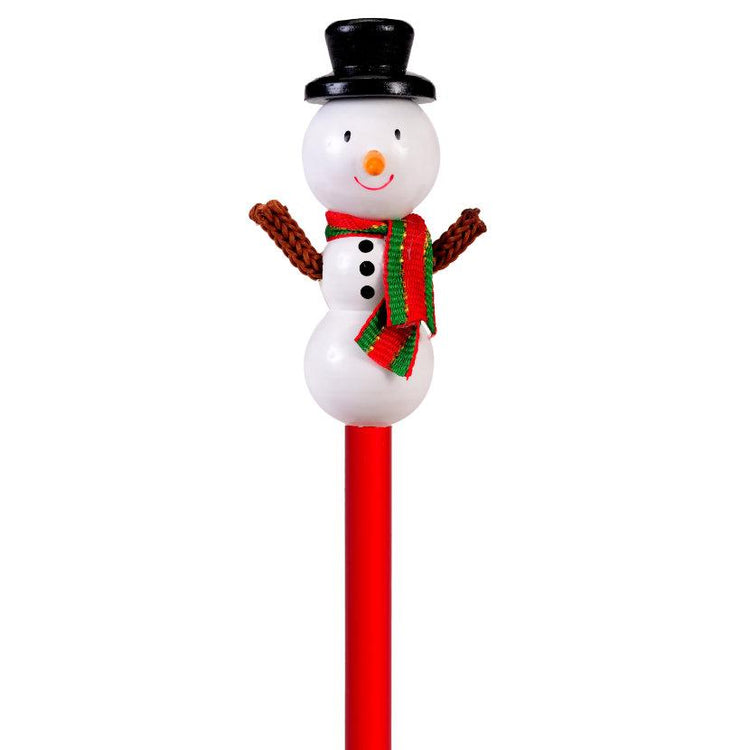 Christmas - Snowman Character Pencil
