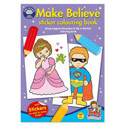 Make Believe Colouring Book - I Want That Present