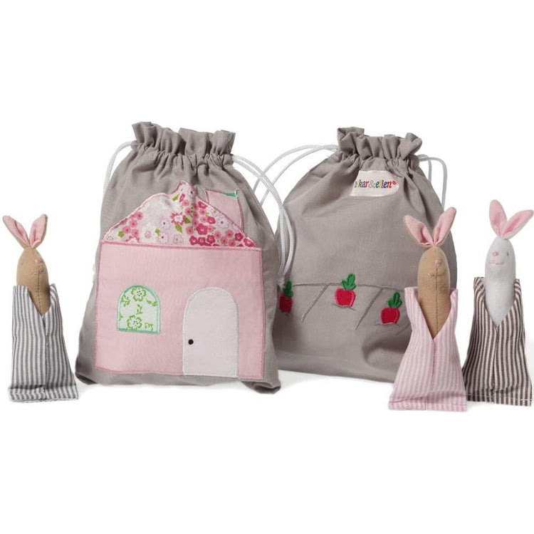 Oskar & Ellen Bunnies Story Bag