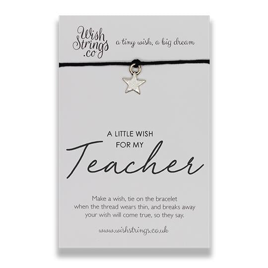 Little Wish Teacher - Wish Bracelet