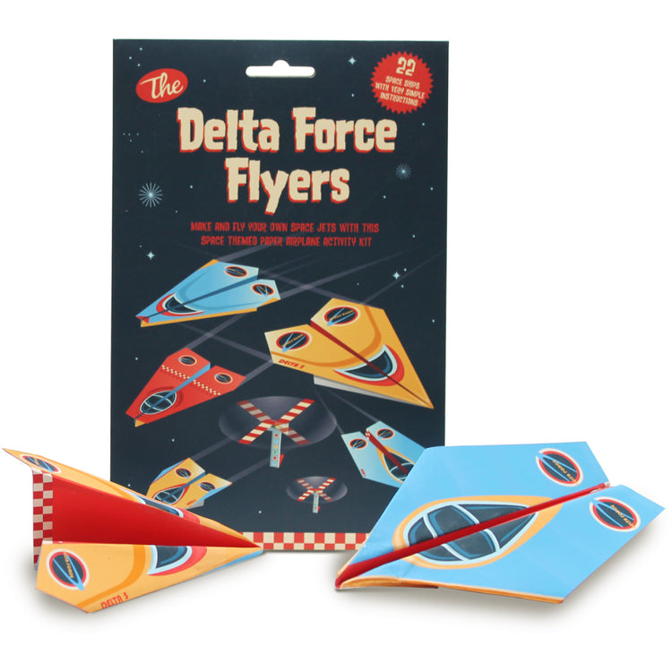 Paper Airplane Activity Kit - Delta Force Flyers
