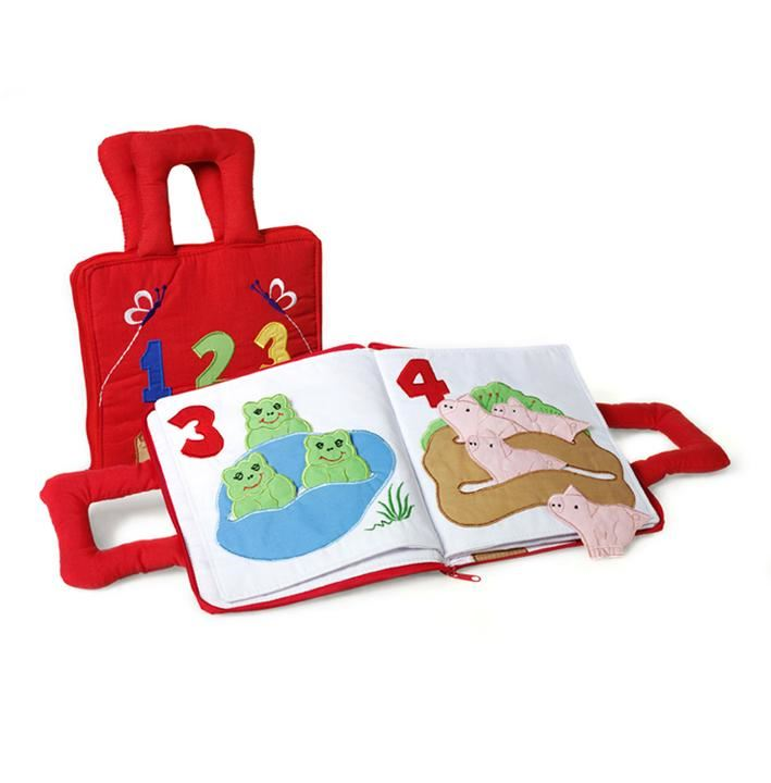 Oskar & Ellen Fabric 1-2-3 Counting Book