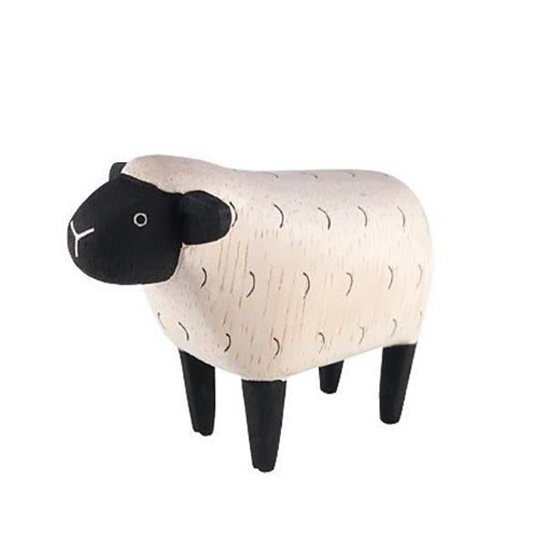 T-Lab - Polepole Wooden Animal - Sheep