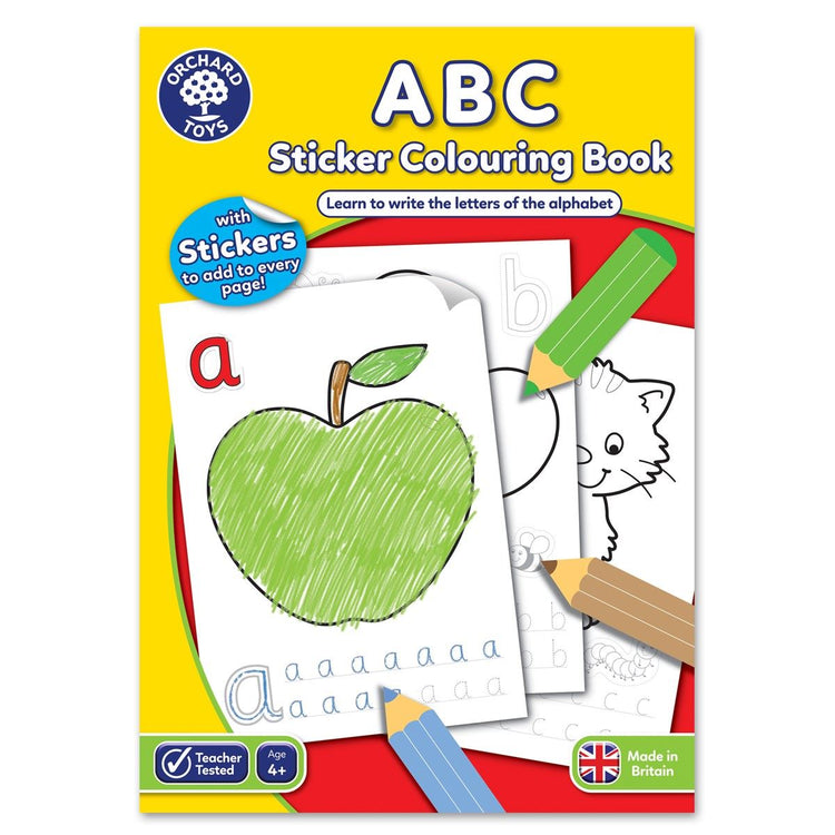 ABC Colouring Book - I Want That Present